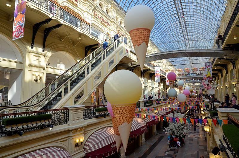 День мороженого отпразднуют в Главном универсальном магазине. Фото: Анна Быкова