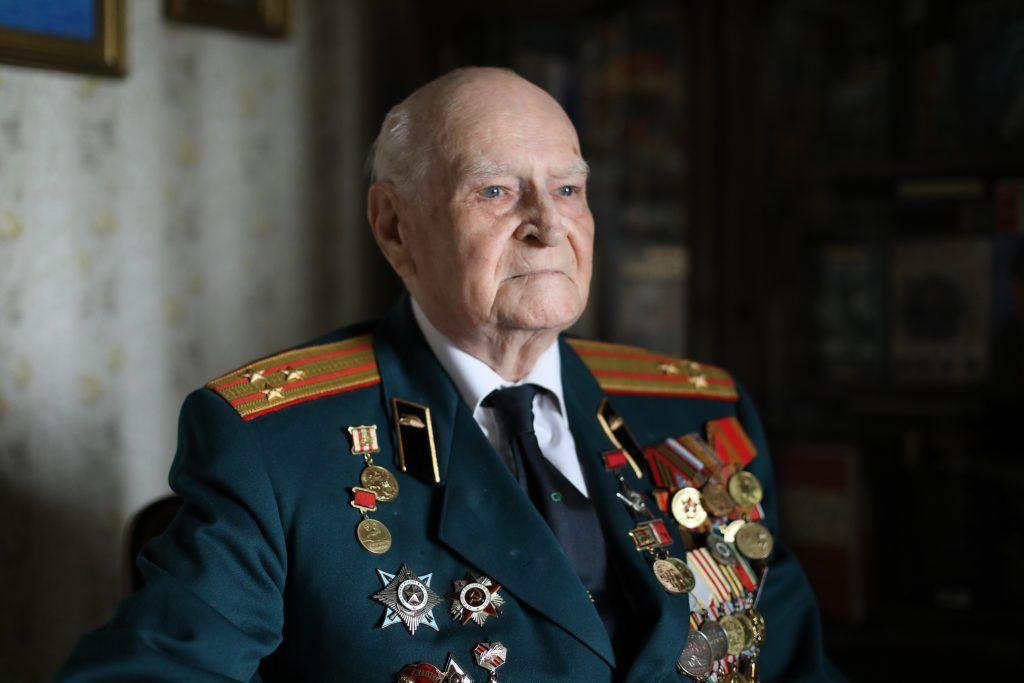 7 мая 2019 года. Ветеран Великой Отечественной войны полковник Владимир Сафир. Фото: Павел Волков