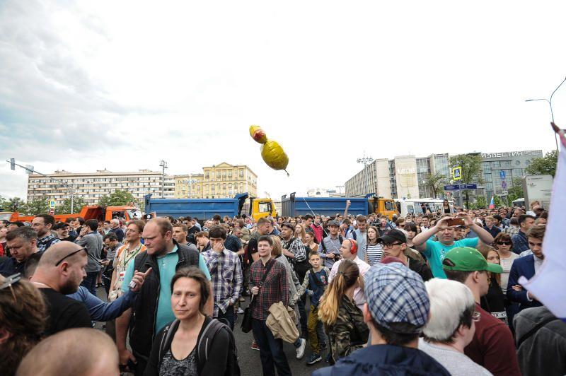 Власти согласовали акцию в защиту Голунова 16 июня на проспекте Сахарова