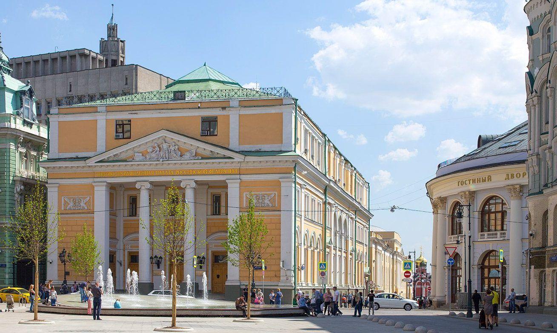 Движение ограничат на улице Ильинка. Фото: сайт мэра Москвы