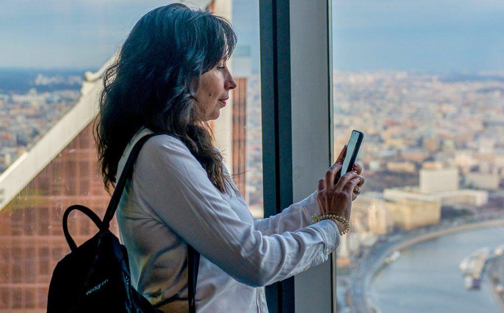 Смотровую площадку в «Москве-Сити» жители столицы смогут посетить по карте «Тройка». Фото: сайт мэра Москвы