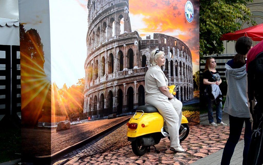 Все дороги ведут в сад «Эрмитаж»: в центре Москвы прошел фестиваль Италии. Фото: Анастасия Кирсанова