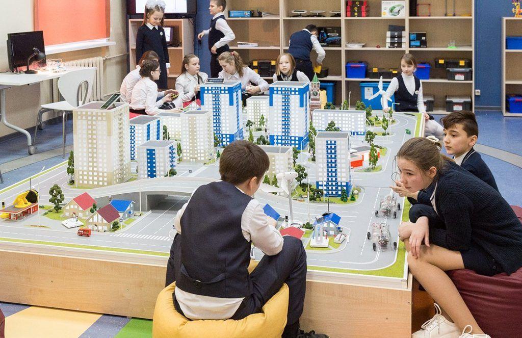 Лабораторный комплекс обновят в школе №1799