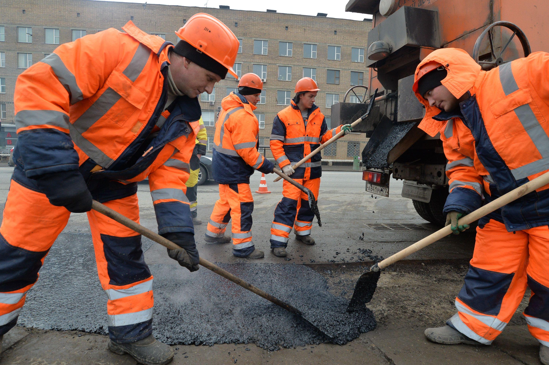 Ремонт дорог на улице Новый Арбат завершили. Фото: архив, «Вечерняя Москва»