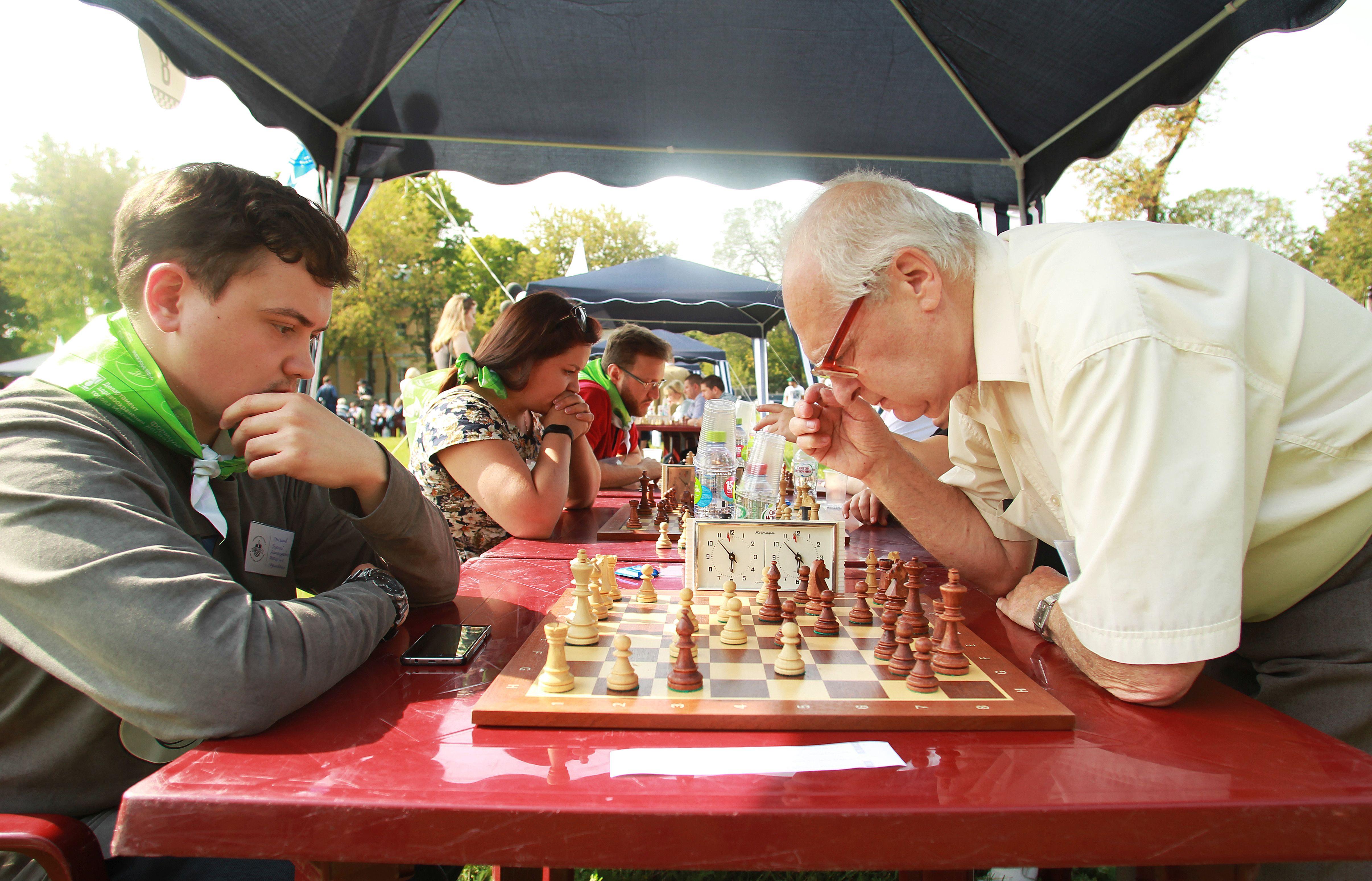 Международный день шахмат в Москве посетили 60 тыс человек.Фото: архив, «Вечерняя Москва»