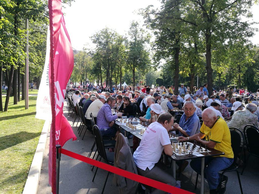 Ветераны приняли участие в турнире по шахматам