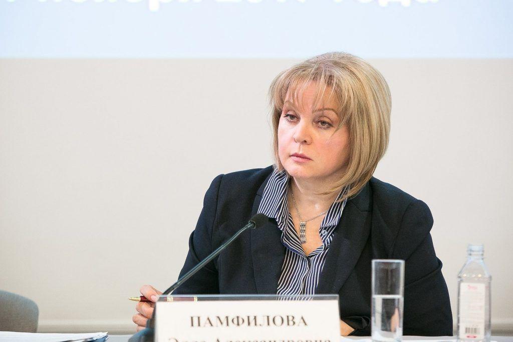 Глава ЦИК: митинги не могут повлиять на решения. Фото: ЦИК России