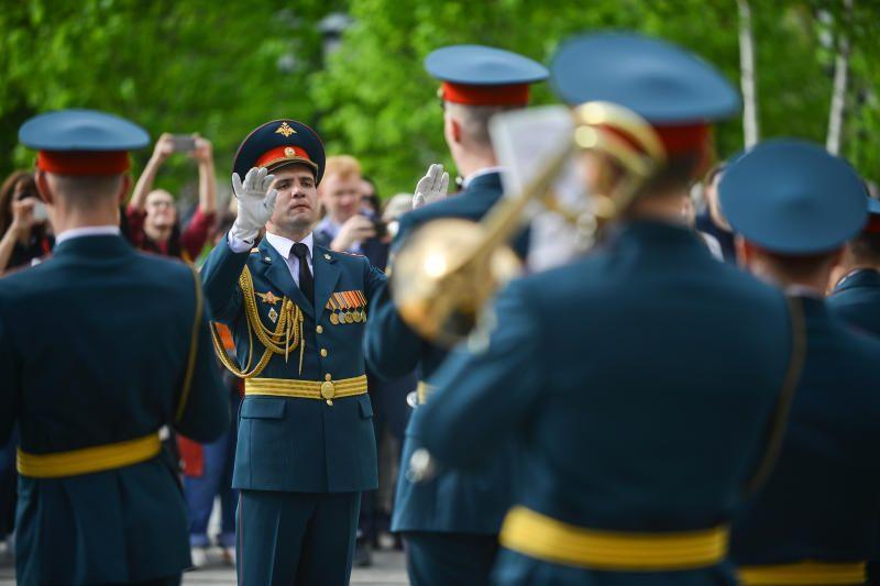 Концерт военных оркестров пройдет в Таганском районе