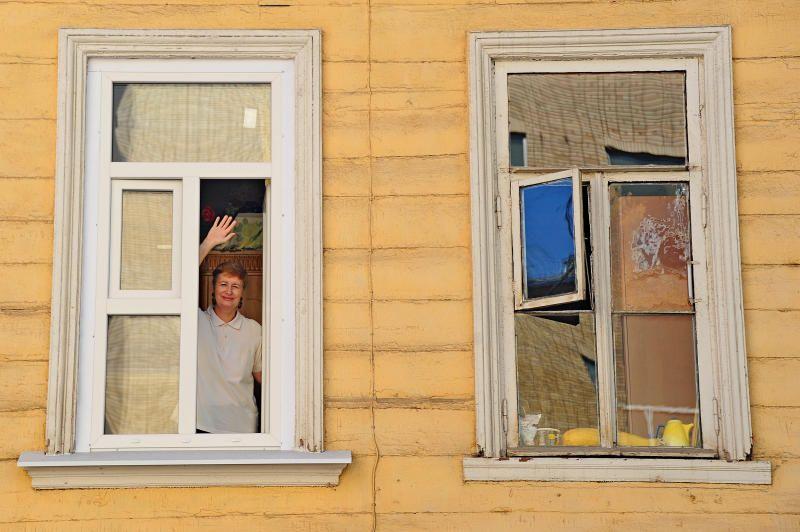 Дом революционной постройки на Плющихе приведут в порядок. Фото: Светлана Колоскова, «Вечерняя Москва»