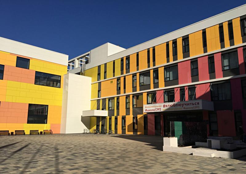 Корпус школы №1500 приведут в порядок к началу сентября