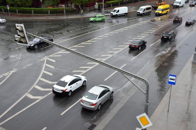 Дорогу временно перекроют на улице Петровка