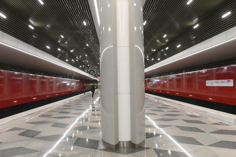 Станцию «Стахановская» оформят в стиле конструктивизм. Фото: Владимир Новиков, «Вечерняя Москва»