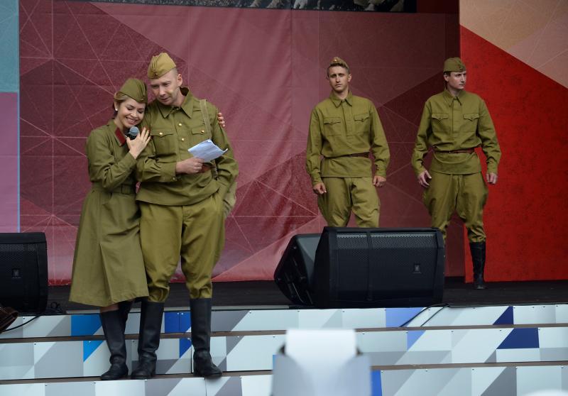 Военно-патриотическое мероприятие прошло в Екатерининском парке