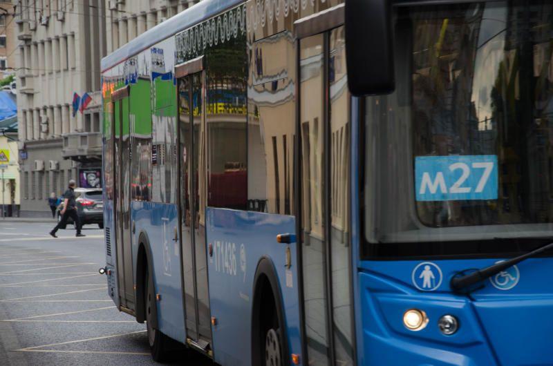 Автобусные маршруты в столице временно изменятся. Фото: Анастасия Кирсанова