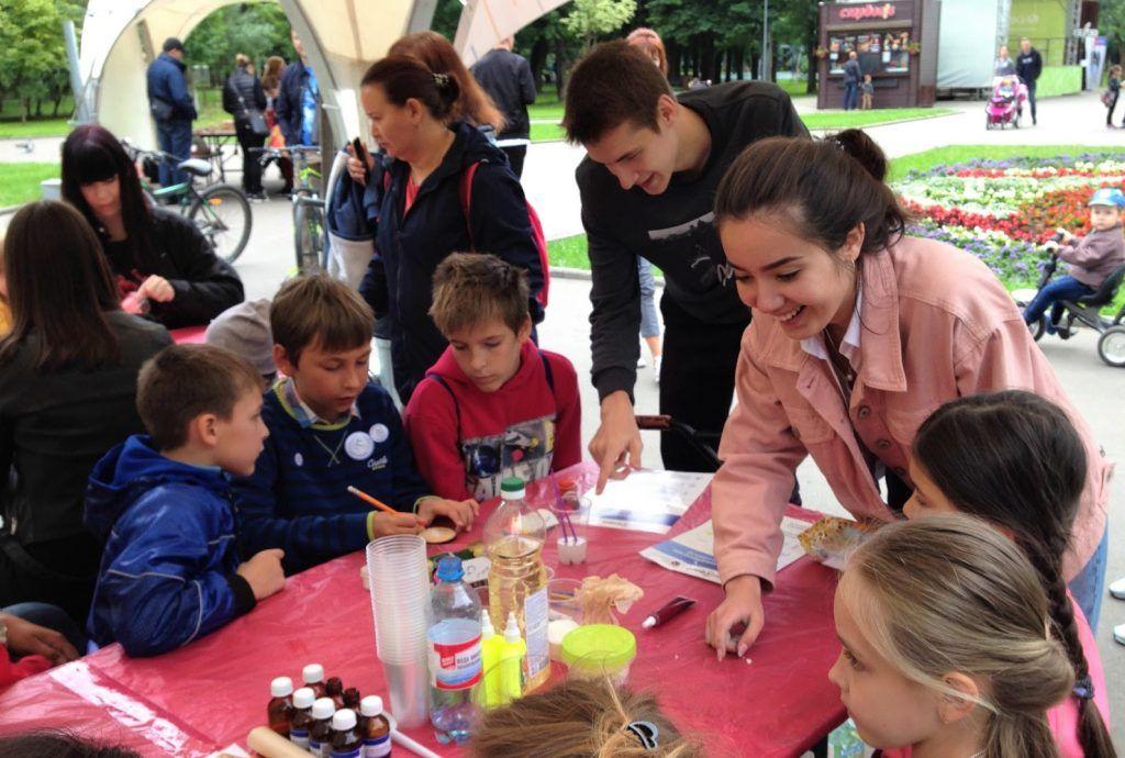 Квест организуют для детей в детском парке имени Прямикова