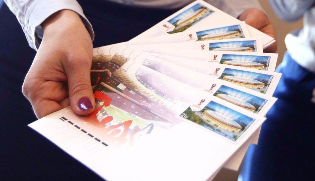 Почтовые марки с изображениями монументального искусства метро вошли в оборот