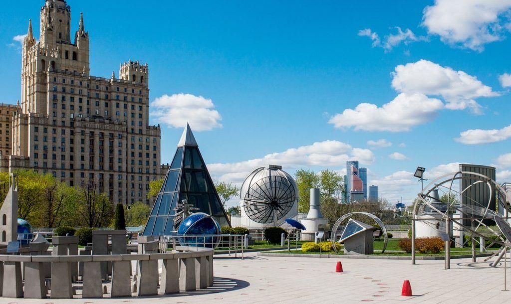 Лекторий откроется на крыше Московского планетария