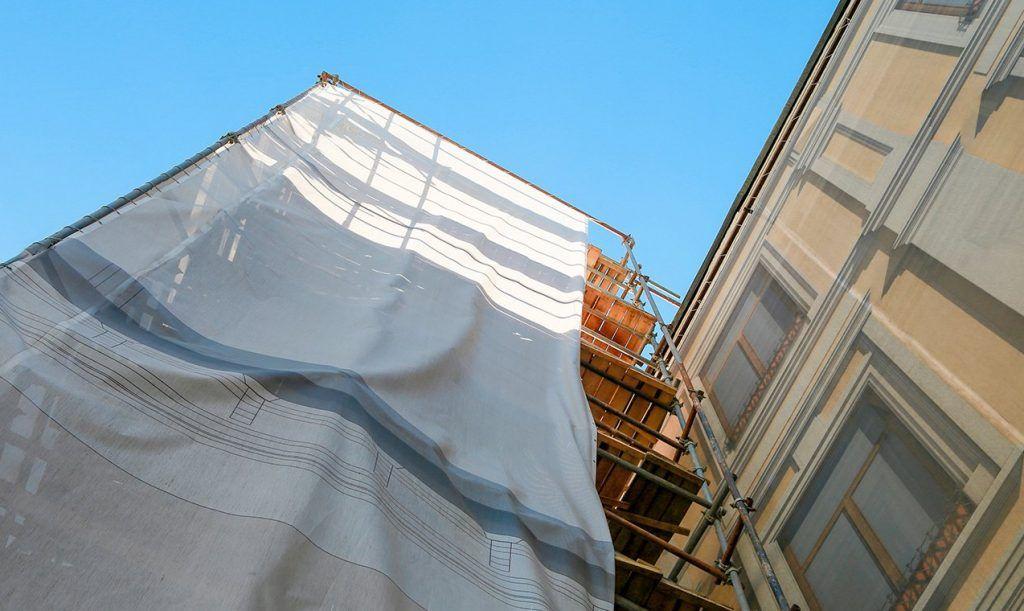 Фасад жилого дома в районе Замоскворечье приведут в порядок