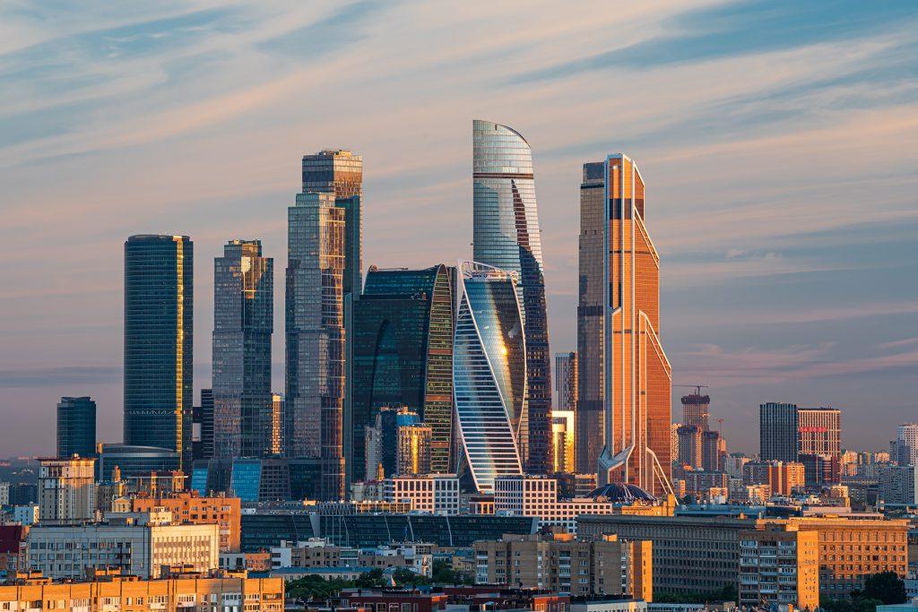 Комплекс «Москва-Сити» стал культовым местом у пользователей Instagram