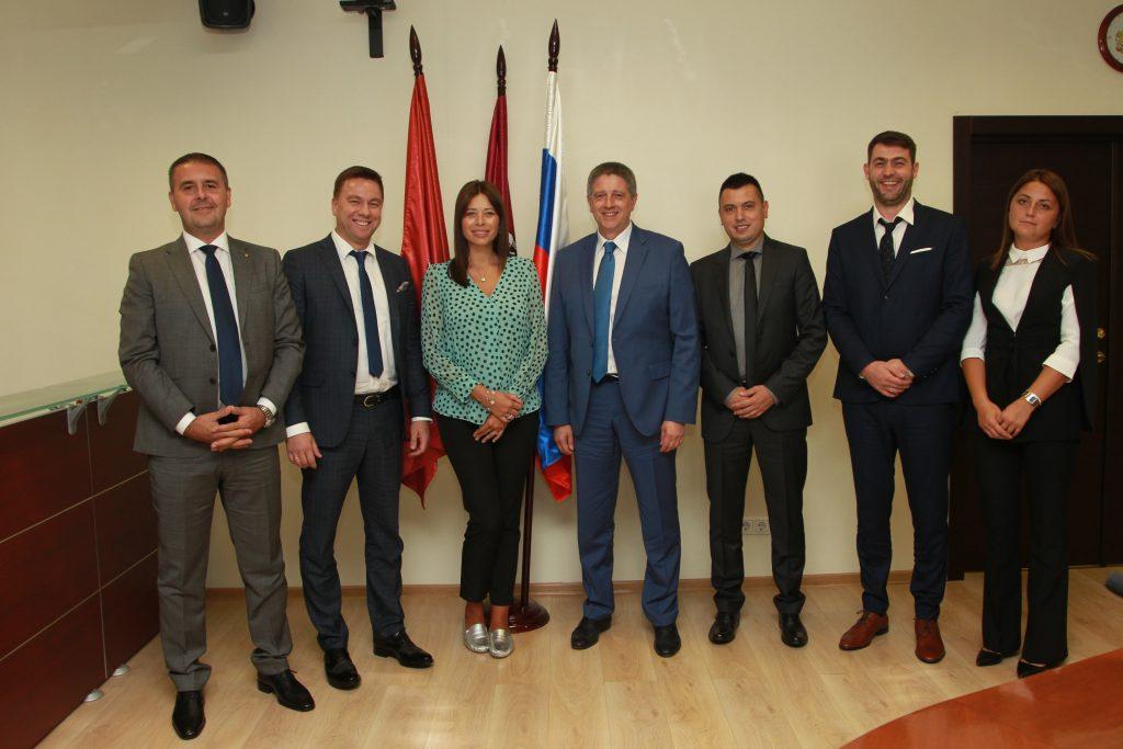 Делегация из Белграда посетила Префектуру Центрального округа
