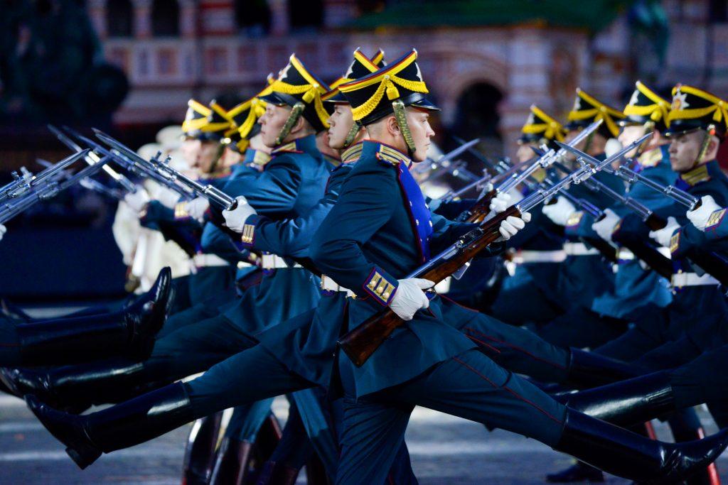 В Москве в рамках фестиваля «Спасская башня» выступят военные оркестры