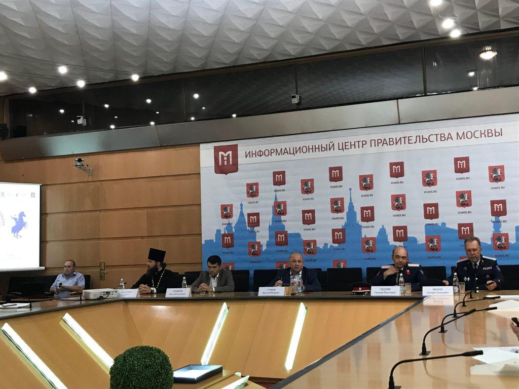 Более тысячи артистов из 40 регионов России съедутся на фестиваль «Казачья станица Москва». Фото: Любовь Тимошкина