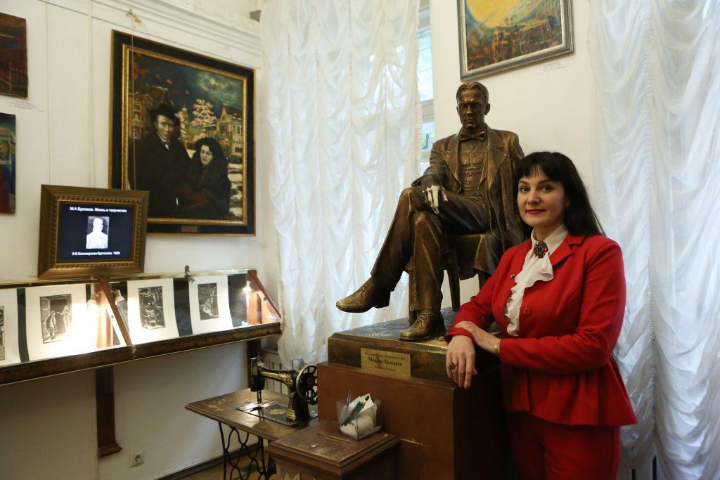Исполнительный директор «Булгаковского дома» Наталья Склярова. Фото: Алексей Орлов