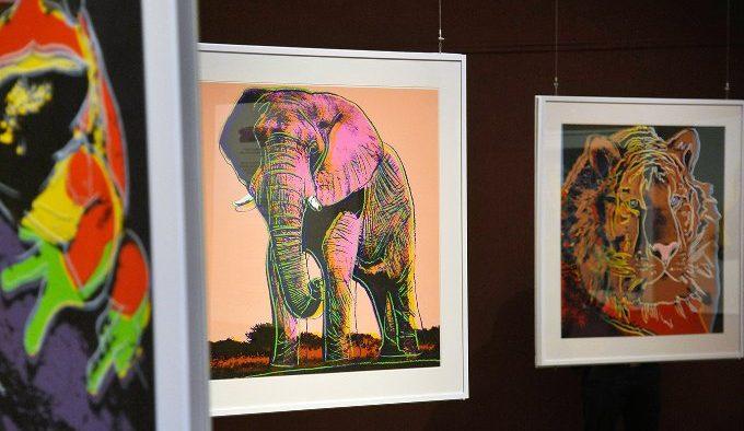 Работы Энди Уорхола горожане смогут увидеть в Московском зоопарке. Фото: сайт мэра Москвы