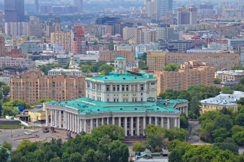 Здание театра Советской Армии приведут в порядок. Фото: Анна Быкова