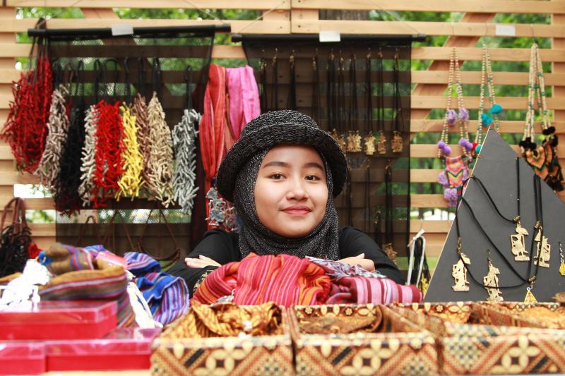 Фестиваль Индонезии пройдет в парке «Красная Пресня». Фото: Наталия Нечаева, «Вечерняя Москва»