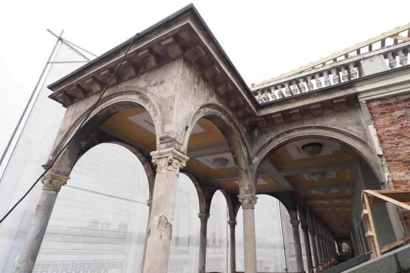 Реставрацию и благоустройство Северного речного вокзала завершат в 2020 году. Фото: Антон Гердо, «Вечерняя Москва»