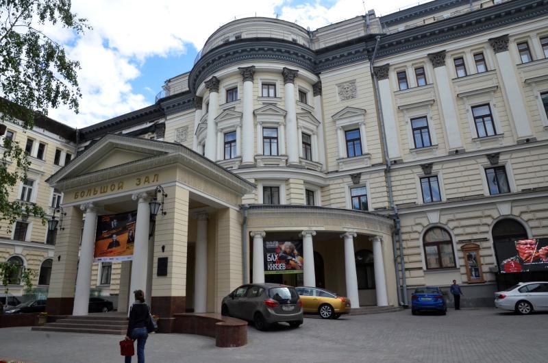 Здание консерватории имени Чайковского отреставрируют. Фото: Анна Быкова