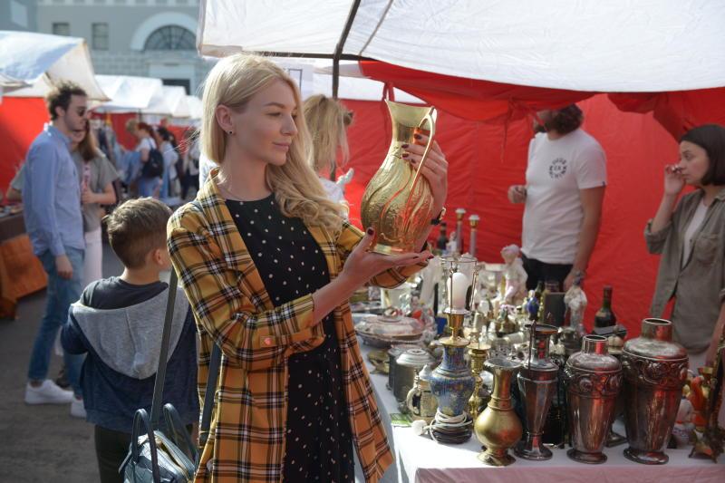 Антикварный маркет пройдет во дворе Музея Москвы