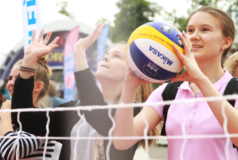Волейбольный турнир пройдет в Таганском районе. Фото: Наталия Нечаева, «Вечерняя Москва»
