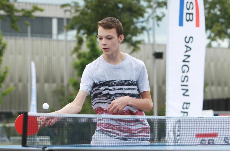Соревнования по настольному теннису состоятся в Таганском районе. Фото: Наталия Нечаева, «Вечерняя Москва»