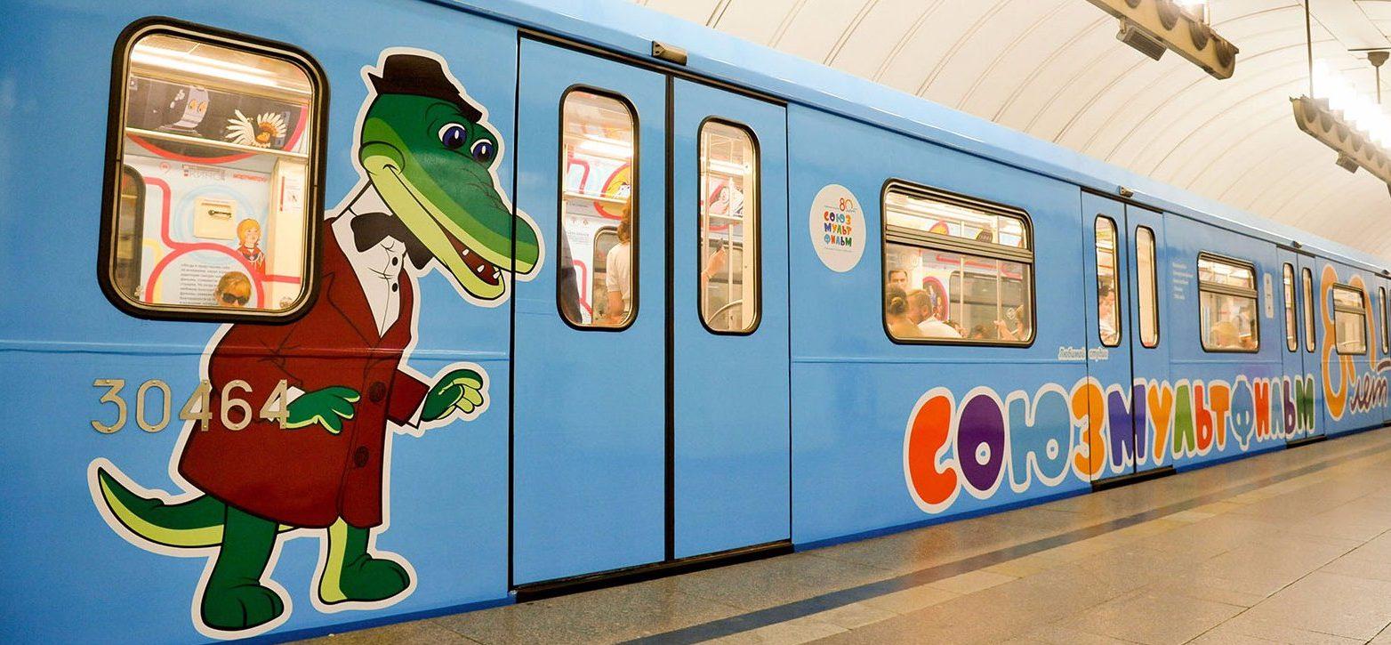 Персонажи «Союзмультфильма» появятся на кузове автобуса М9. Фото: сайт мэра Москвы