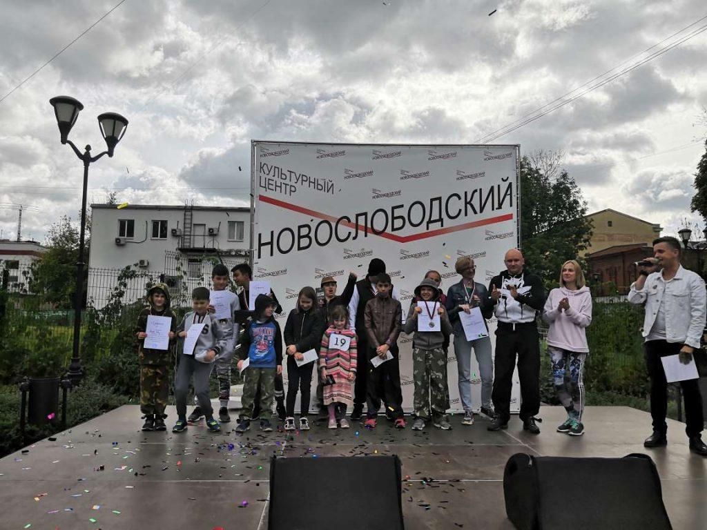 Горожане приняли участие в забеге на семейном фестивале «Чистопрудный Fest»