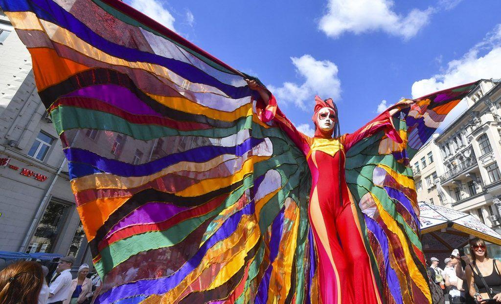 Более трех миллионов человек посетили гулянья в честь Дня города на Тверской улице
