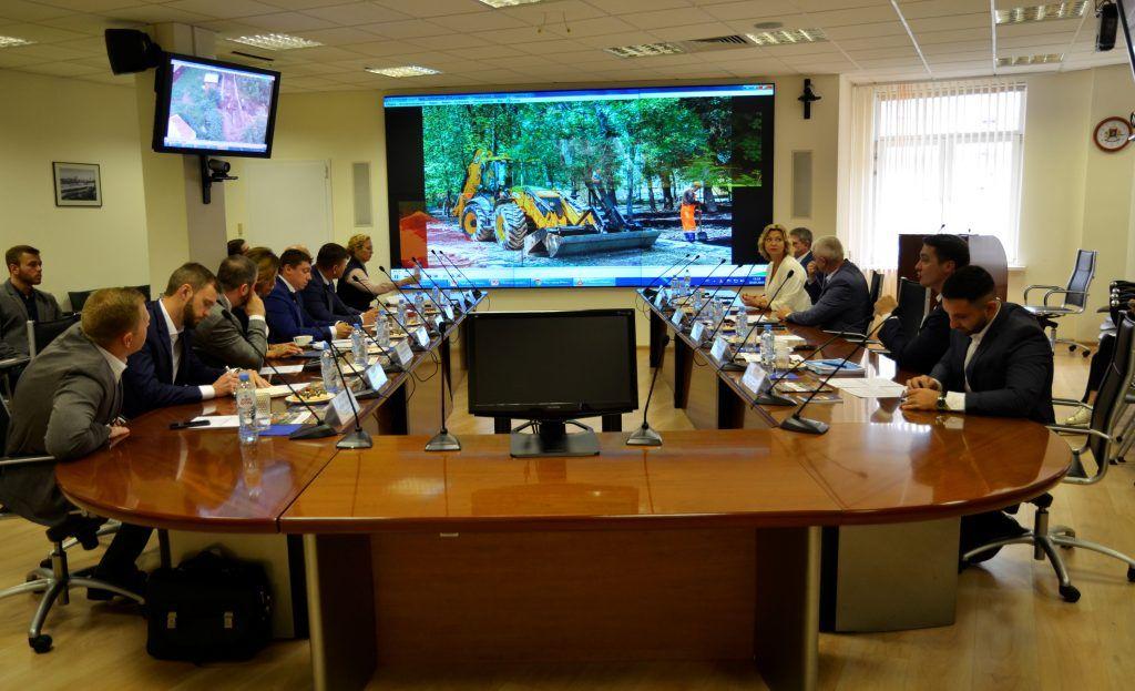 Представители префектуры Центрального округа поделились опытом с коллегами из Липецка