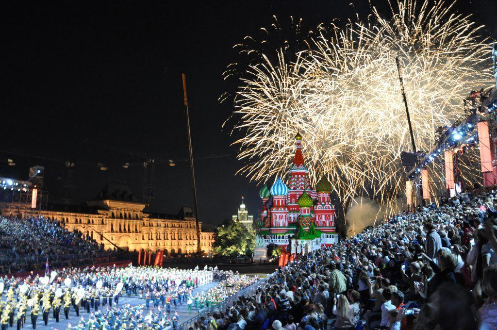 Торжественное закрытие фестиваля «Спасская Башня» состоялось на Красной площади