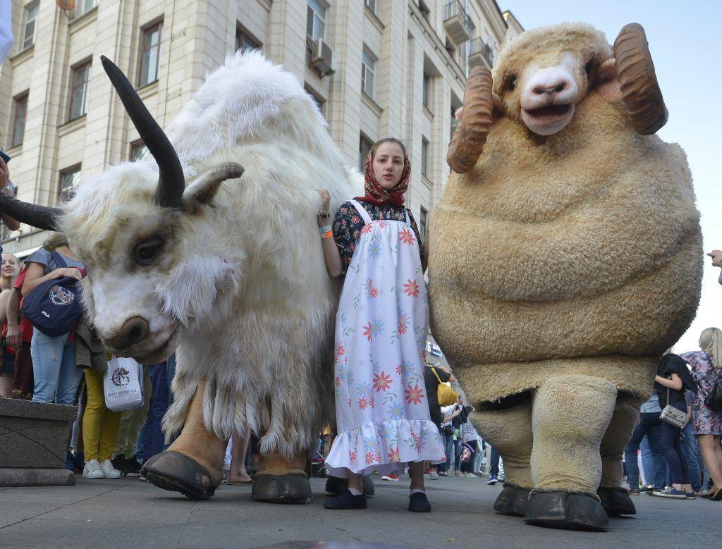 Около миллиона человек отпраздновали День города на пешеходной Тверской