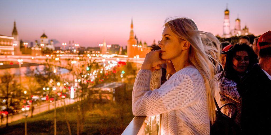 Парку «Зарядье» исполнилось два года. Фото: сайт мэра Москвы