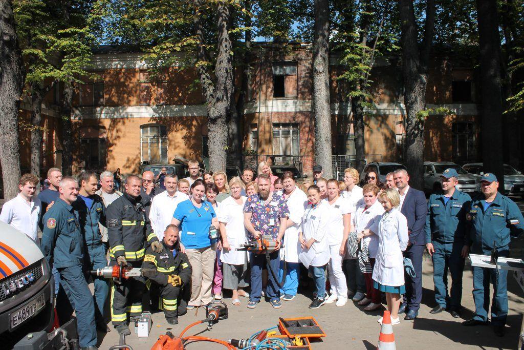 В Московской детской городской клинической больнице было проведено комплексное учение