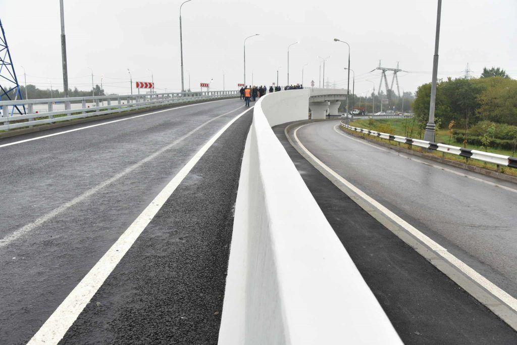 Москвичи получили новые развязки и дороги в начале сентября