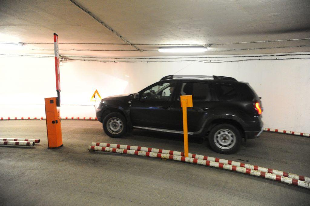 Многоуровневую парковку достроили под эстакадой ТТК у «Москва-Сити»