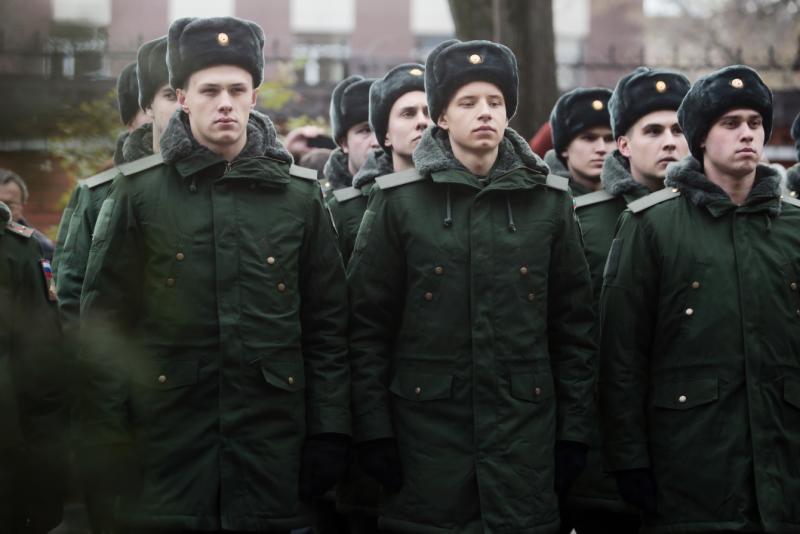 Власти Москвы сообщили о начале осеннего призыва. Фото: архив