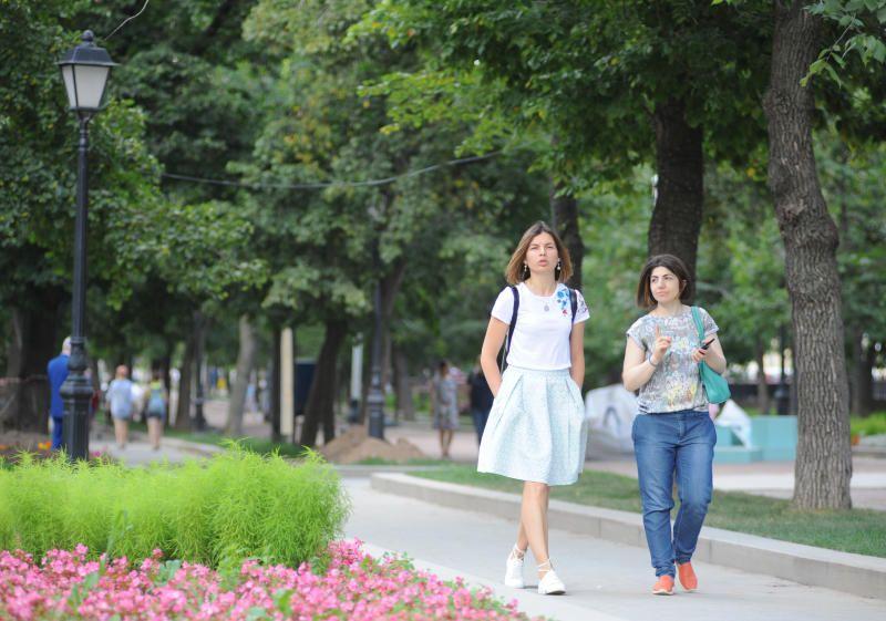 Теплая погода ожидается в Москве 8 сентября