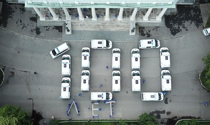 Горожане смогут увидеть выставку о скорой помощи на бульварах города