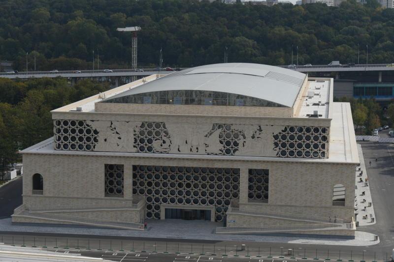 Дворец водных видов спорта в Лужниках поставлен на кадастровый учет
