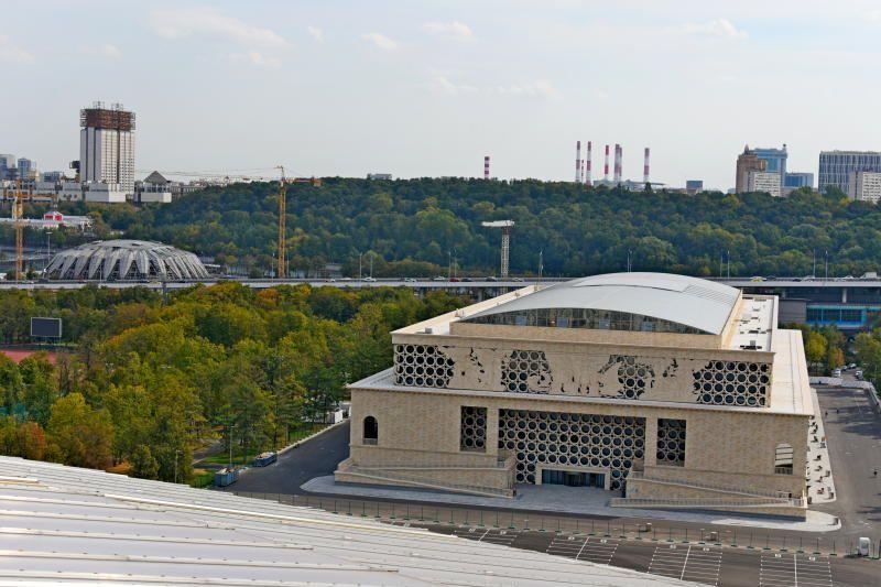 Дворец водных видов спорта в «Лужниках» поставлен  на кадастровый учет